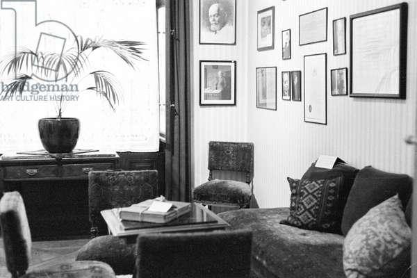 Home of Sigmund Freud (Sigismund Schlomo Freud) in Vienna (Sigmund Freud Museum) 1982