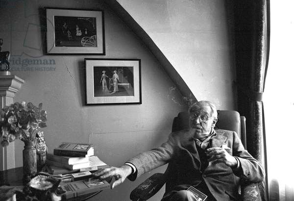 Portrait of Jean Anouilh 1981
