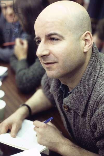 Portrait of Pierre Guyotat 1984