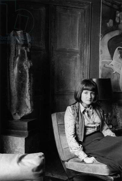 Portrait of Joyce Mansour (born Joyce Patricia Ades) 1977