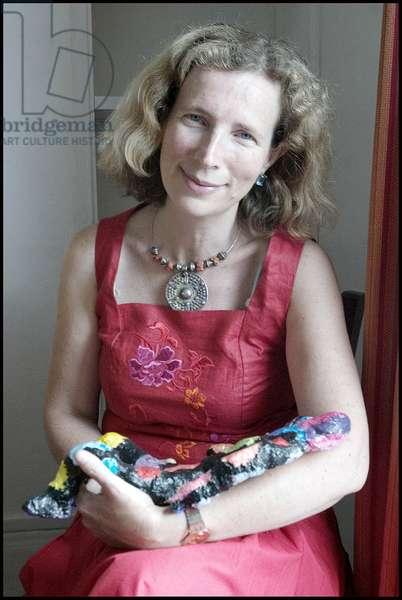 Portrait of Catherine Cusset 25/06/2009