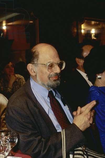 Portrait of Irwin Allen Ginsberg 1990