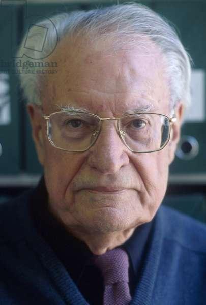 Portrait of Maurice Nadeau 1997