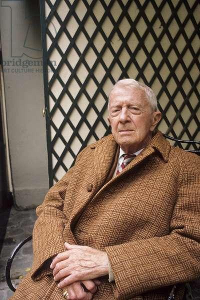 Portrait of Paul Bowles 1990