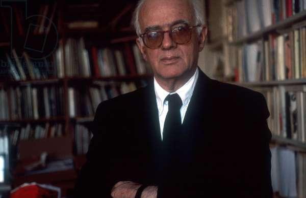 Portrait of Christian Bourgois (publisher)