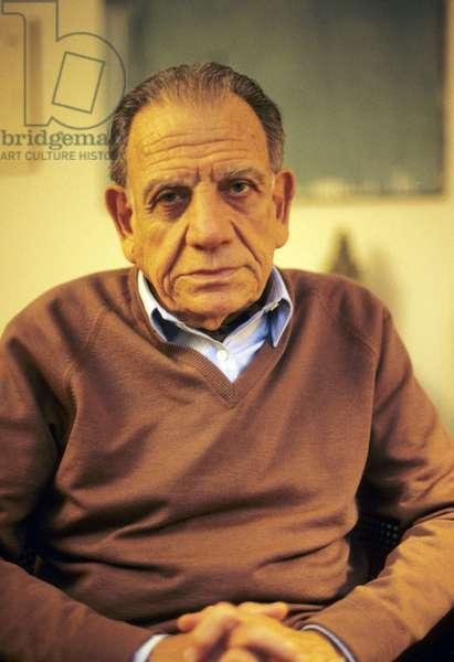 Portrait of Edmond Jabes