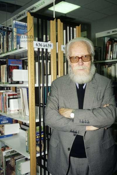 Portrait of Francois Nourissier 1995