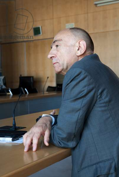 Portrait of Jean-Marc (Jean Marc) Janaillac (senior official, businessman) (former Air France-KLM). CEO) 15/05/2018