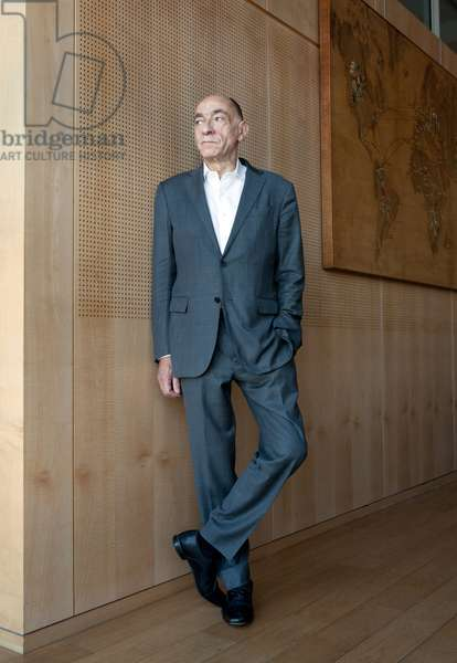 Portrait of Jean-Marc (Jean Marc) Janaillac (senior official, businessman) (former Air France-KLM. CEO) 15/05/2018