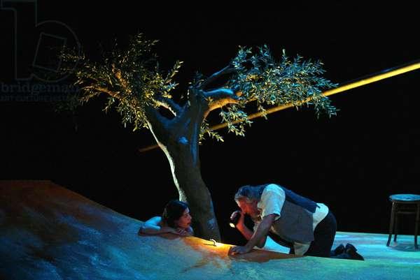 UN COEUR ATTACHE SOUS LA LUNE (Bernard LEVY) 2002
