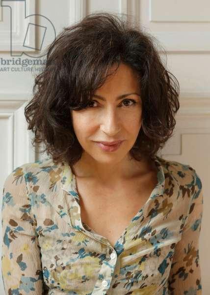 Yasmina Reza (colour photo, 2014)