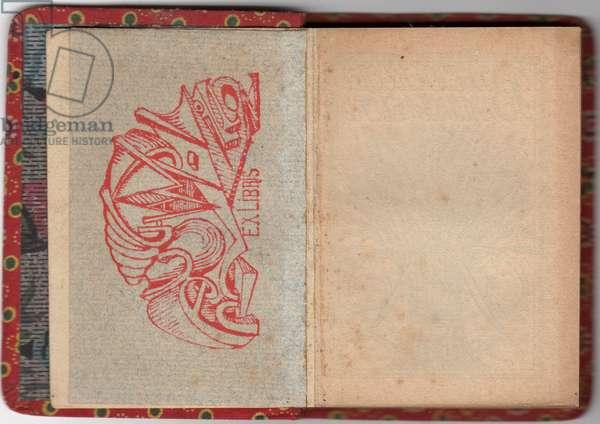 Ex-Libris (ink on paper)
