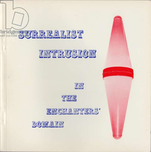 Surrealist Intrusion in the Enchanters' Domain, catalogue to the final International Surrealist Exhibition, Nov 28, 1960 to Jan 14, 1961 (colour litho)