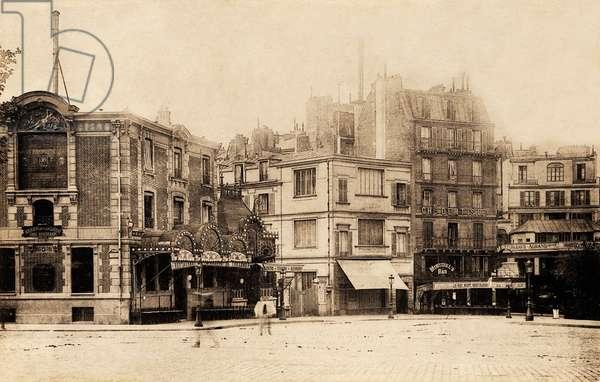 La Pigalle, Montmartre, Paris, 1900 (b/w photo)