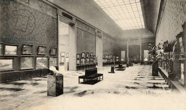 Grand Palais, Salon d'Automne, view of a room, 1905 (photo)