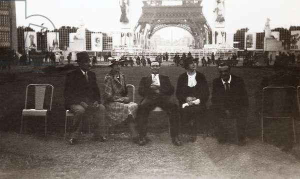 Exposition Universelle, Paris, 1937 (b/w photo)