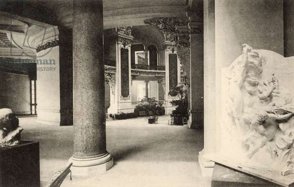 Grand Palais, Salon d'Automne, view of a gallery, 1905 (photo)