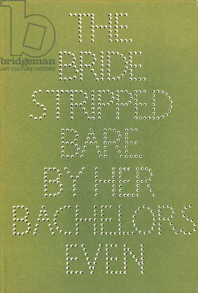 The Bride Stripped Bare by Her Bachelors, Even: A Typographic Version by Richard Hamilton of Marcel Duchamp's Green Box, 1960 (colour litho)