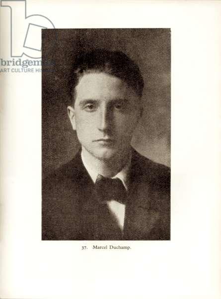 Marcel Duchamp, from 'Les Peintres Cubistes', 1912 (b/w photo)