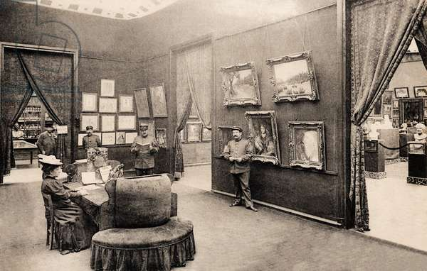 Colonial Exposition at the Ministry of Colonies and Fine Arts, Marseille, 1931 (b/w photo)