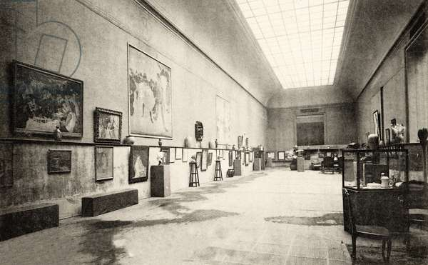Grand Palais, Salon d'Automne, view of Room 3, 1905 (photo)