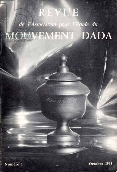 Journal of the Association for the study of the Dada Movement n° 1, Paris, October 1965 (litho)