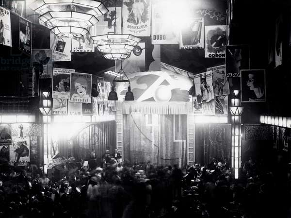Le Bal Tabarin, Montmartre, Paris, 1934 (b/w photo)