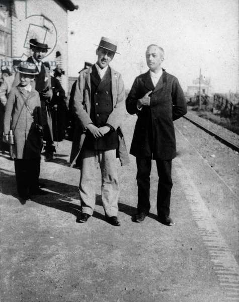 Marcel Proust to Cabourg around 1896