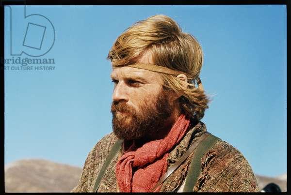 Robert Redford on the set, 'Jeremiah Johnson,' 1972 (photo)