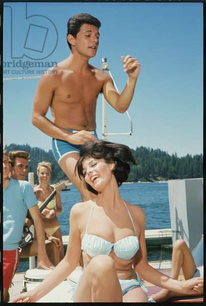 Frankie Avalon and Rosemarie Frankland, 'I'll Take Sweeden', 1965 (photo)
