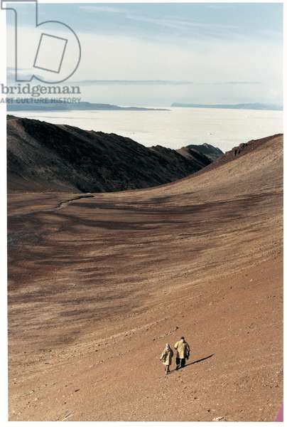 In the valley,Ellesmere Island, Canadian Arctic
