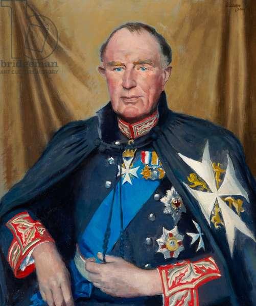 Lord Wakehurst, 1968 (oil on canvas)