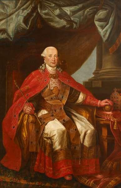 Leopold II, Emperor of Austria (oil on canvas)