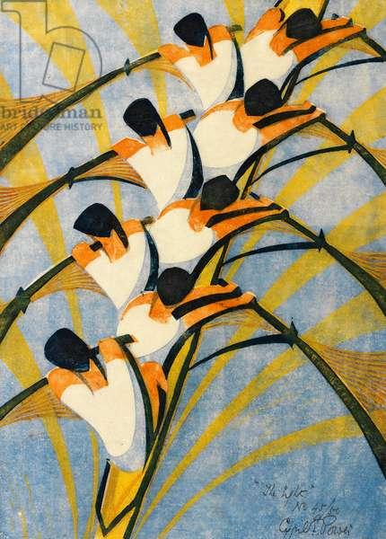 The Eight, 1930 (linocut)