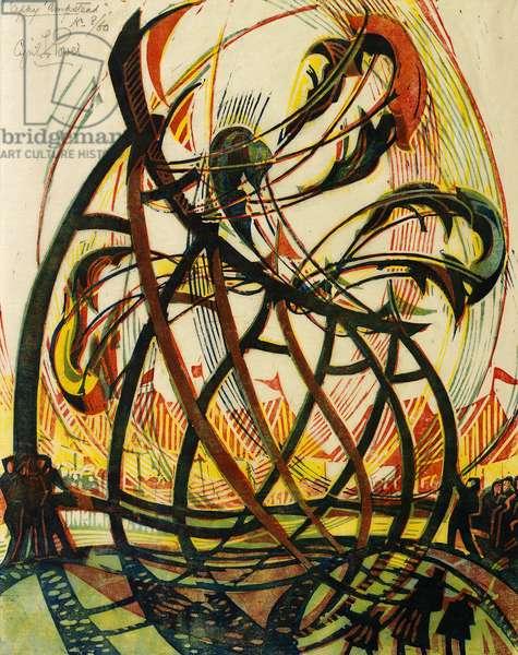 'Appy 'Ampstead, c.1933 (linocut)