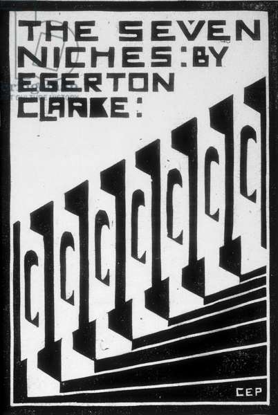 The Seven Niches, c.1931 (linocut)