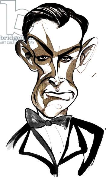Scottish actor Sean Connery (born 1930) as 'James Bond 007'