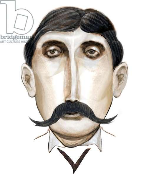 Marcel Proust, 2021 (digital)