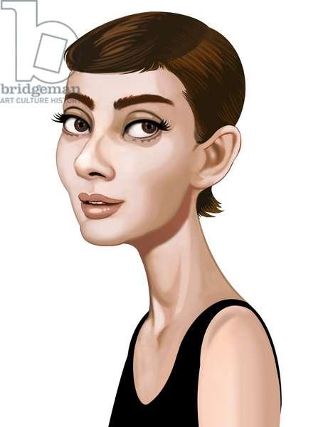 Audrey Hepburn, 2021 (digital)
