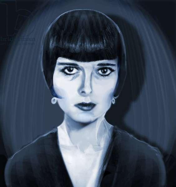 Louise Brooks, 2021 (digital)