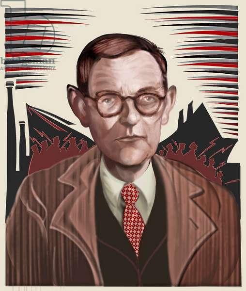 Dmitri Shostakovich, 2021 (digital)