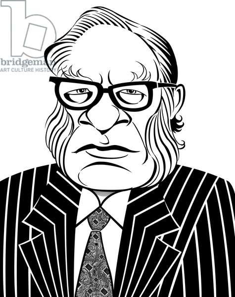 Isaac Asimov, 2019 (digital)