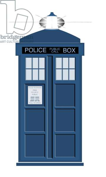 The Tardis from 'Doctor Who'