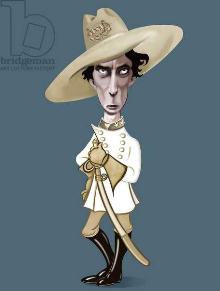 Buster Keaton, 2021 (digital)