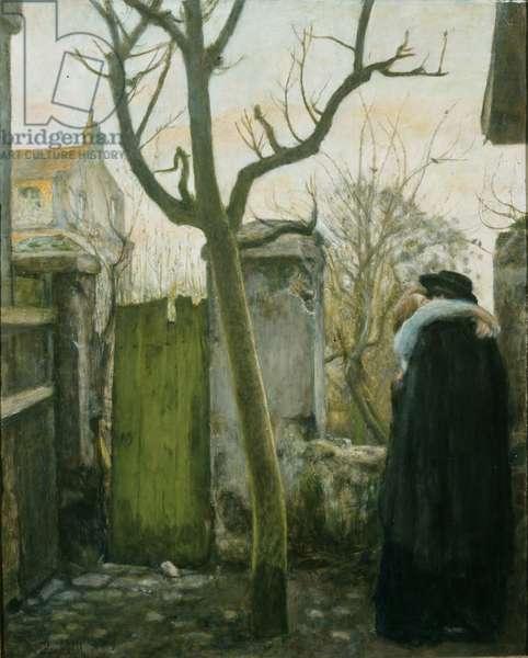 An Idyll (oil on canvas)