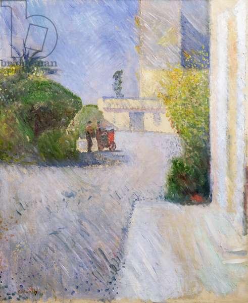 Sunshine, Nice, 1891 (oil on canvas)