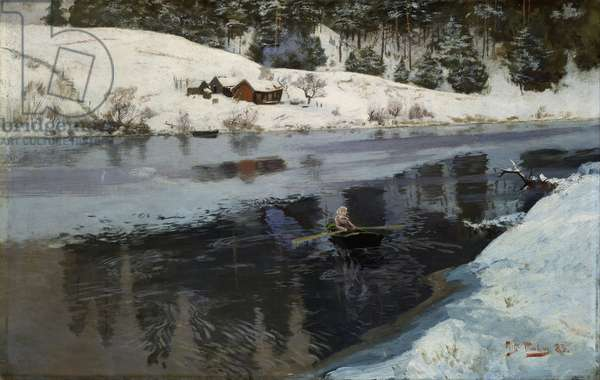 From Simoa, Winter, 1883 (oil on panel)
