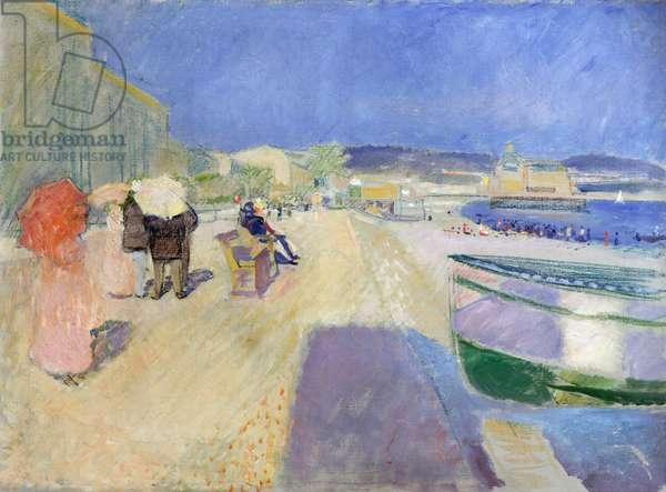 Promenade des Anglais, 1891 (oil & pastel on canvas)