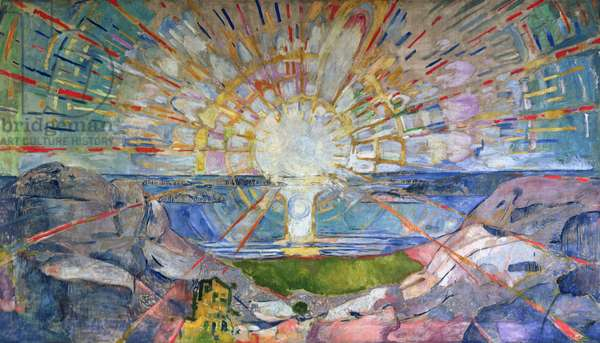 The Sun, 1911-16 (oil on canvas)