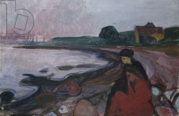 From Asgardstrand, 1903 (oil on canvas)